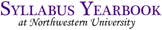 Syllabus Yearbook at Northwestern University